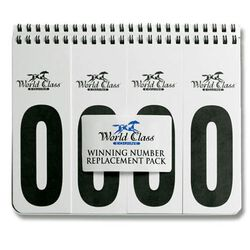 Winning Numbers Replacement Book Set