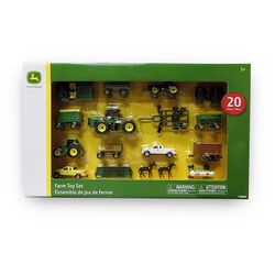 John Deere 20 Piece Farm Toy Set