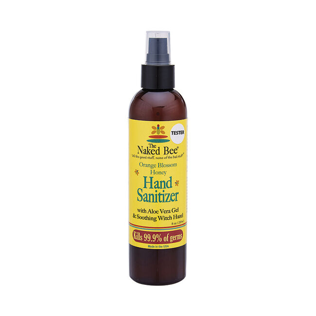 Naked Bee Orange Blossom Honey Hand Sanitizer-2 oz image number null