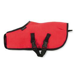 Crafty Ponies Fleece Rug - Red