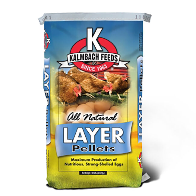 Kalmbach 17% Non-GMO Layer Pellets  image number null