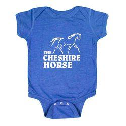 Cheshire Horse Kids' Blue Onesie