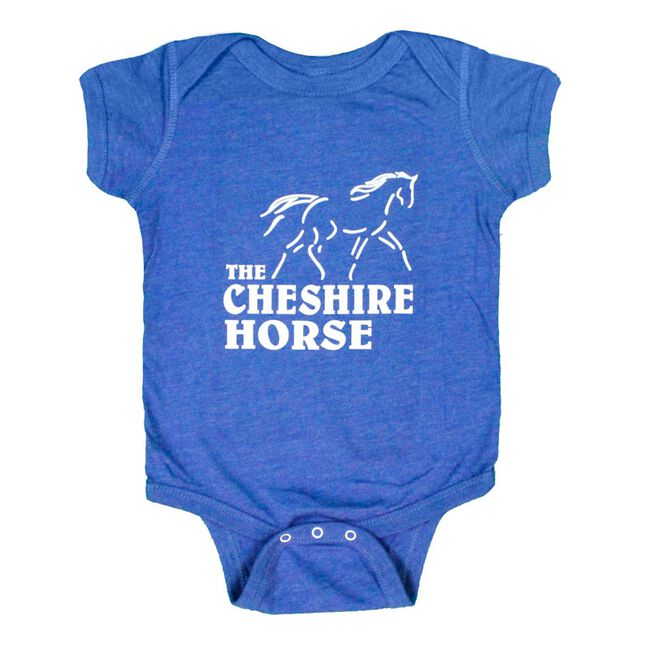 Cheshire Horse Kids' Blue Onesie image number null