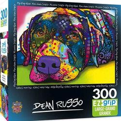 """My Dog Blue"" Dean Russo 300 Piece EZ Grip Jigsaw Puzzle"