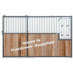 Behlen 12' Front Horse Stall Panel With Door