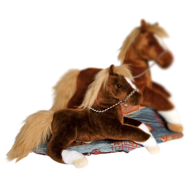 Douglas Walnut Chestnut Horse Plush Toy image number null
