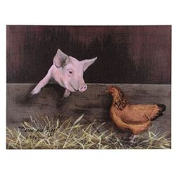 Bacon And Eggs Canvas