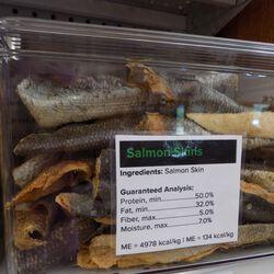Vital Essential Freeze Dried Salmon Skin Single