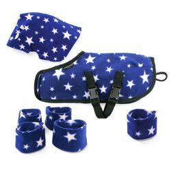 Crafty Ponies Snuggle Rug Set - Blue Star