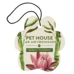 Pet House Car Air Freshener - Bamboo Watermint