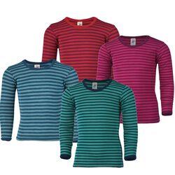 Engel Kids' Long Sleeve Shirt  - Wool/Silk Blend