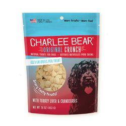 Charlee Bear Turkey Liver & Cranberries Dog treats 16oz