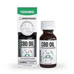 Green Roads 100mg CBD Oil Tincture for Humans