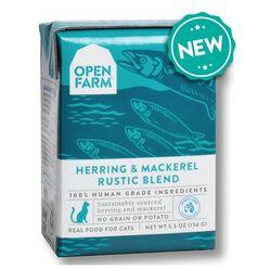 Open Farm Herring & Mackerel Rustic Blend Wet Cat Food 5.5 oz