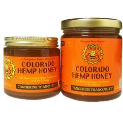Colorado Hemp Honey for People & Pets -  Tangerine Tranquility