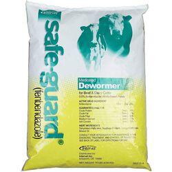 Intervet Safe-Guard Livestock Medicated Dewormer Pellets