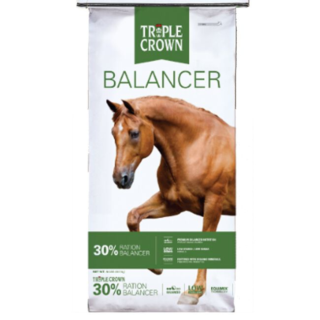 Triple Crown 30% Ration Balancer Horse Feed image number null