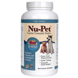 Ark Naturals Nu-Pet Canine Wafer Vitamin and Antioxidant Supplement