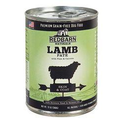 Redbarn Natural Grain-Free Lamb Recipe Pate Canned Dog Food 13 oz