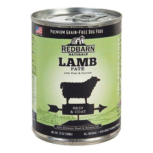 Redbarn Natural Grain-Free Lamb Recipe Pate Canned Dog Food  image number null