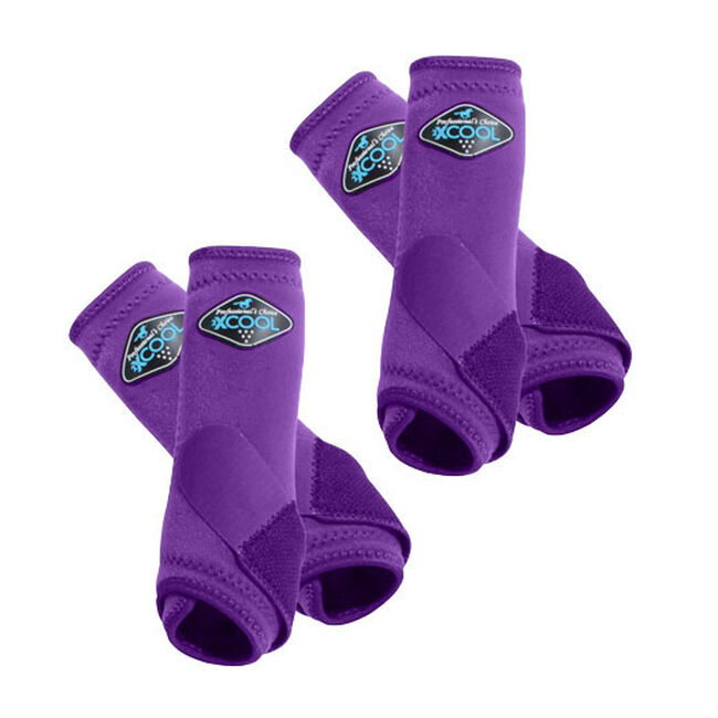Professional's Choice 2XCool Sports Medicine Boots Value 4 Pack - Purple image number null