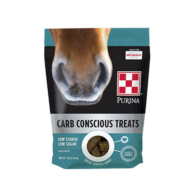 Purina Carb Conscious Horse Treats image number null