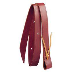 Tory Leather Pony Latigo Tie Strap - Burgundy