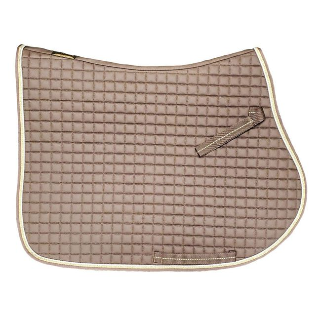 Eskadron Heritage Collection Cotton All Purpose Saddle Pad - Mocha image number null