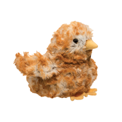 Brown Multi Chick Plush Toy
