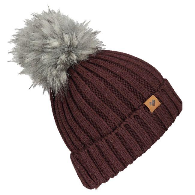 Obermeyer Denver Faux Fur Hat - Wine Not image number null