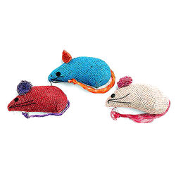 Ethical Product Spot Burlap Mice 3 Pack