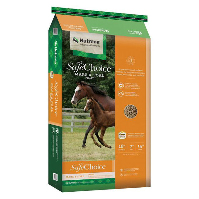Nutrena SafeChoice Mare & Foal Horse Feed image number null