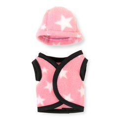Crafty Ponies Vest/Helmet Cover - Pink