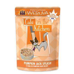 Weruva Cats in the Kitchen Pumpkin Jack Splash Cat Food Pouches 3 oz
