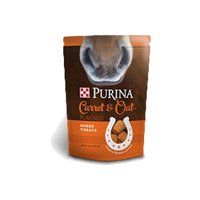 Purina Horse Treats Carrot and Oat image number null