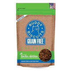 Buddy Biscuits Grain Free Soft Chicken Cat Treats 3oz