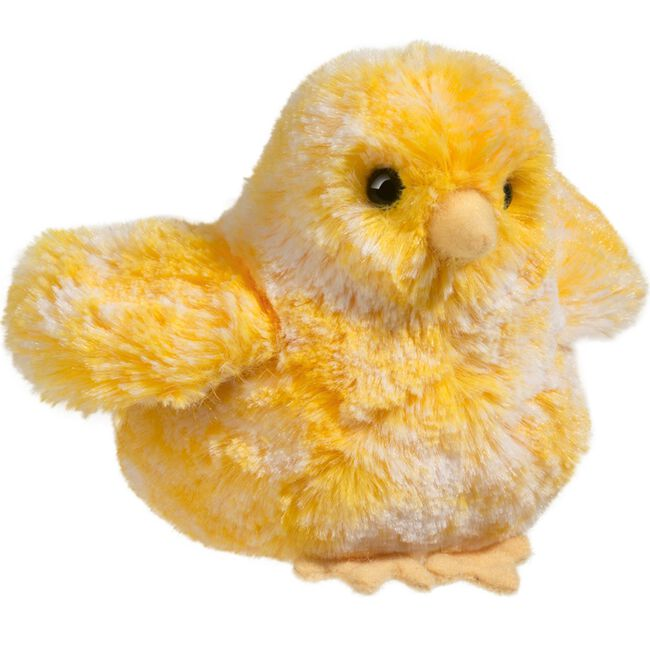 Douglas Multi Yellow Chick Cuddle Toy image number null