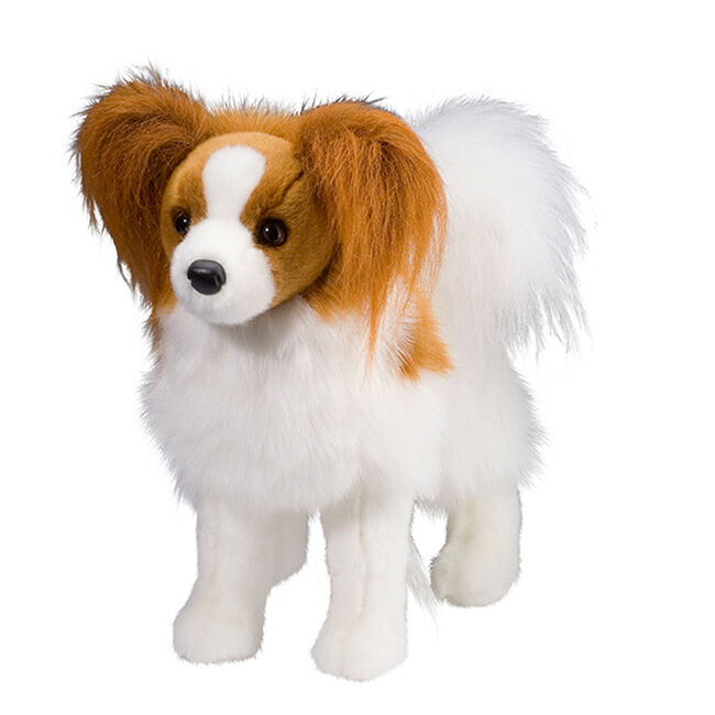 Douglas Feathers Papillon Plush Toy image number null
