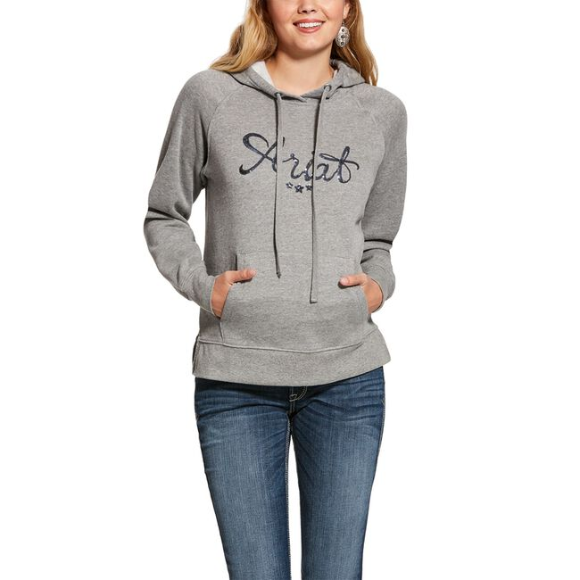 Ariat REAL Sequin Hoodie image number null