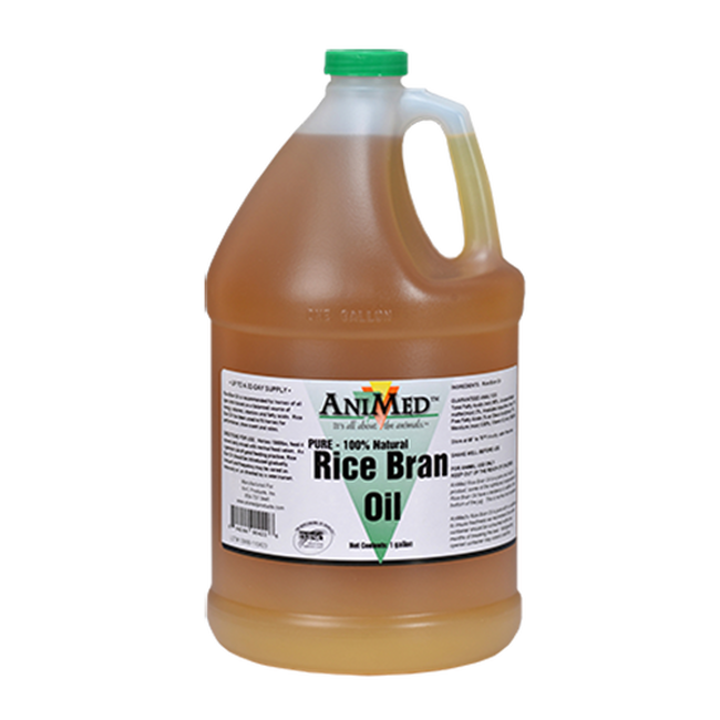 Animed pure rice bran oil-gallon image number null