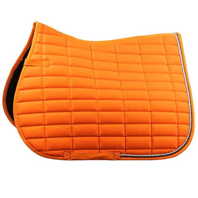 Horze Caesar All Purpose Saddle Pad-Orange Pepper image number null