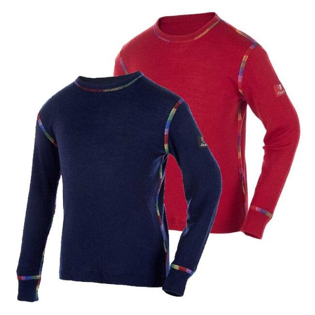 Janus Kids' Rainbow Wool Long Sleeved Shirt image number null