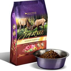 Zignature Venison Formula Dry Dog Food