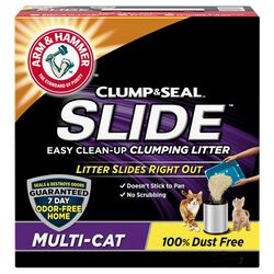 Arm & Hammer SLIDE Easy Clean-Up Clumping Litter, Multi-Cat