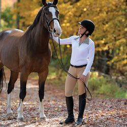 Shires Equestrian Style Show Shirt