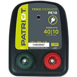 Patriot PE10 Fence Charger