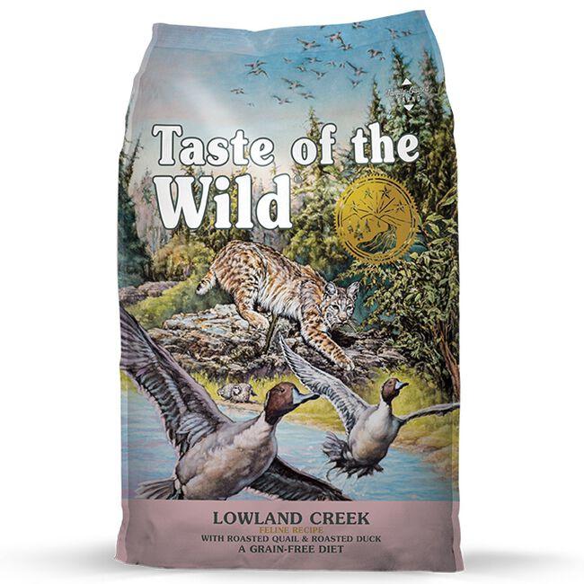 Taste of the Wild Lowland Creek Feline Recipe Dry Cat Food image number null