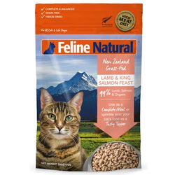 K9 Natural Lamb and King Salmon Feast Freeze Dried Cat Food