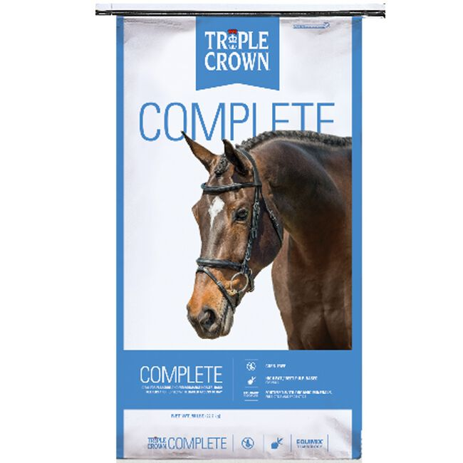 Triple Crown Complete Horse Feed image number null