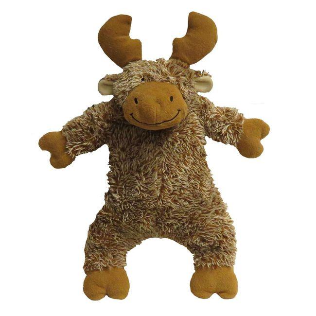 FabDog Fluffy Moose Toy image number null